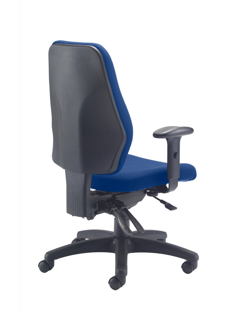 Call Centre High Back Posture Chair - Royal Blue