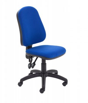 Calypso II High Back Operator Chair with PCB Mechanism - Royal Blue