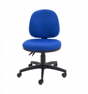 Factory Mid Back Operator Chair - Royal Blue