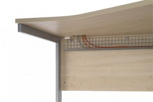 Universal Basket Style 100 Cable Tray - Silver