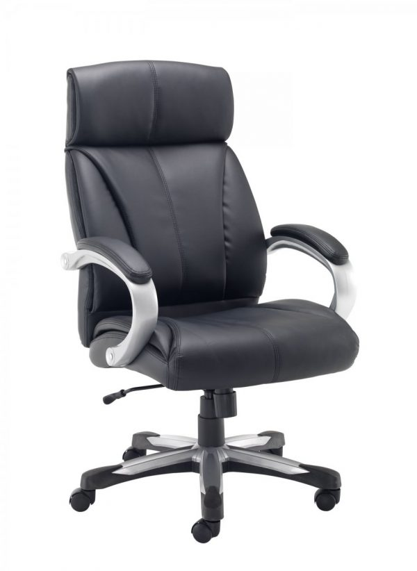 Cronos Heavy Duty High Back Executive Chair - Black