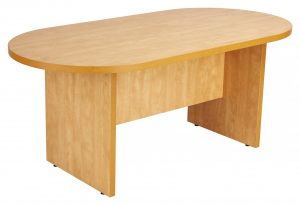 Prime Executive Oval 180 Conference Table - Lucida Pear