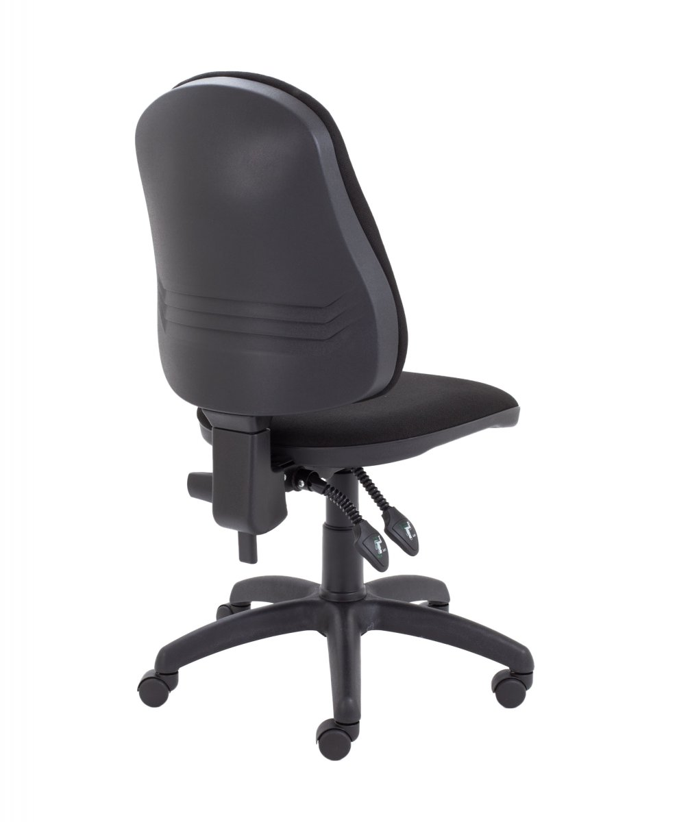 Calypso II High Back Operator Chair with PCB Mechanism - Black