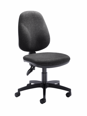 Concept High Back Operator Chair - Charcoal