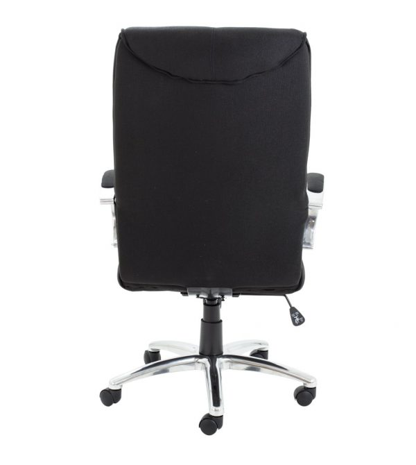 Whist Executive Fabric High Back Chair - Black