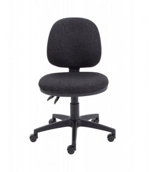 Factory Mid Back Operator Chair - Charcoal