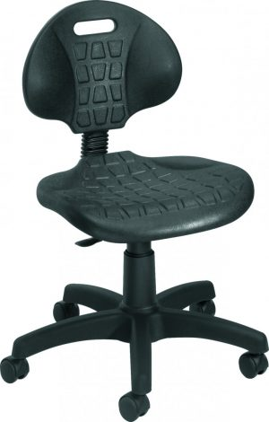 Factory Work Chair - Black