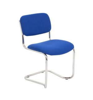 Summit Meeting Visitor Chair - Royal Blue