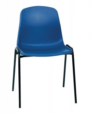 Stock Economy Poly Chairs - Blue