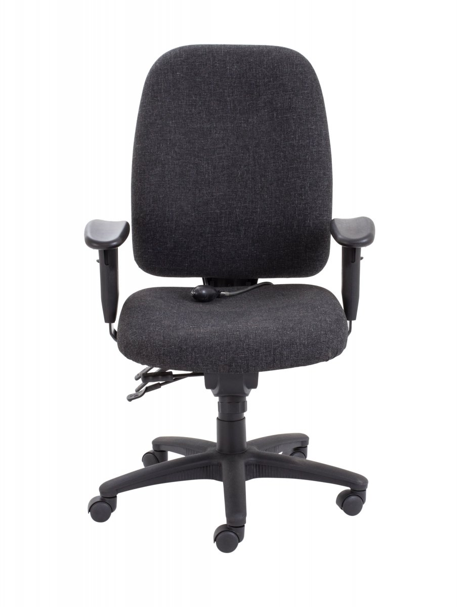 Vista High Back Posture Chair - Charcoal