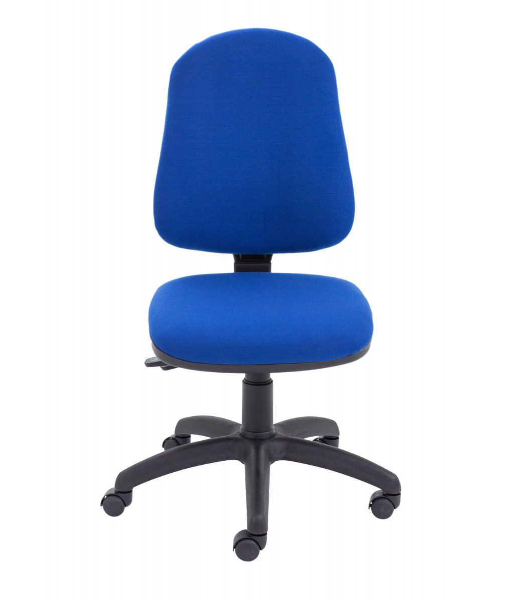 Calypso II High Back Operator Chair with Asynchro Mechanism - Royal Blue