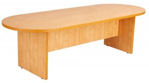 Prime Executive Oval 240 Conference Table - Lucida Pear