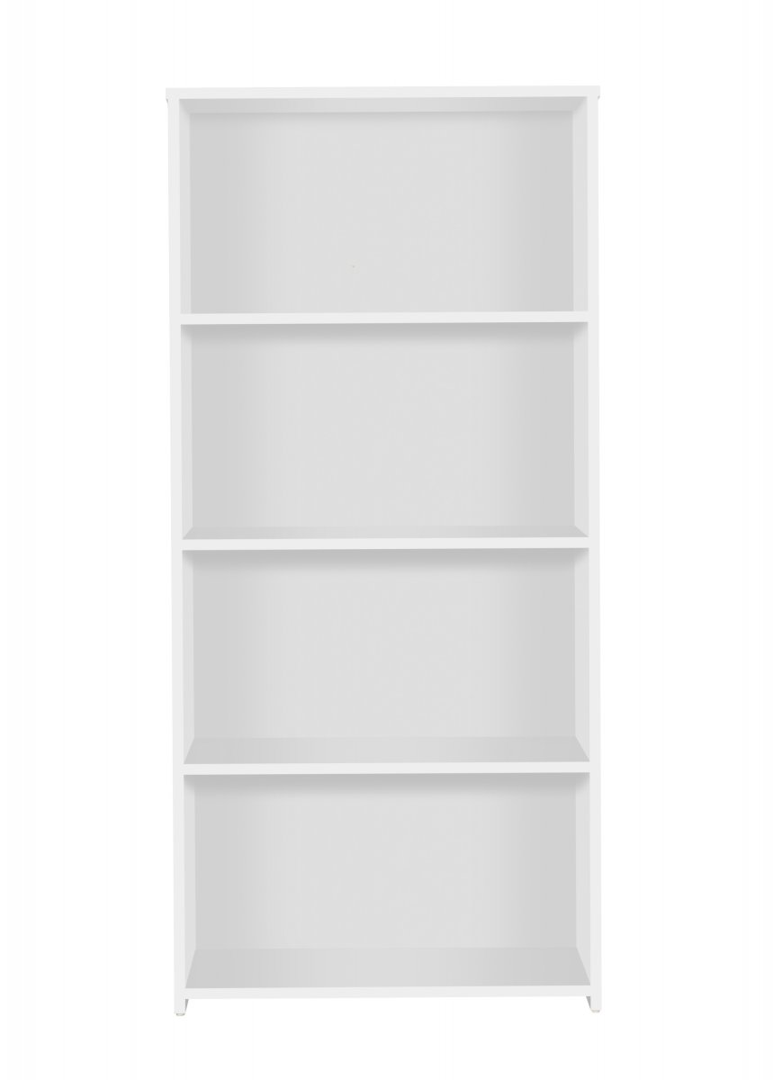 Eco 18 Premium Bookcase inc. 3 Shelves - White