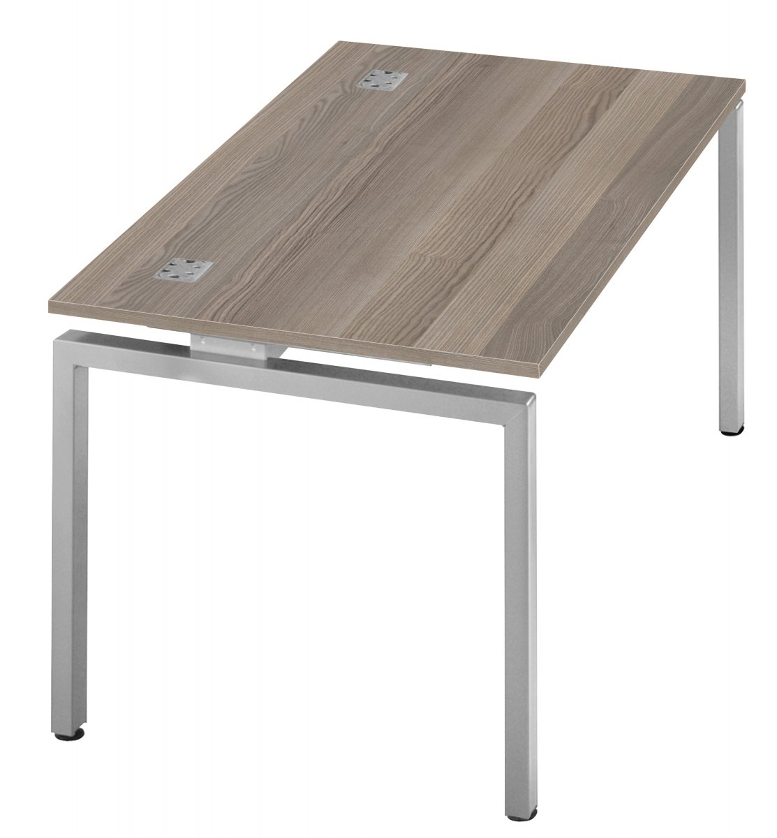 Fraction Bench Single 160 Starter Workstation - Grey Oak
