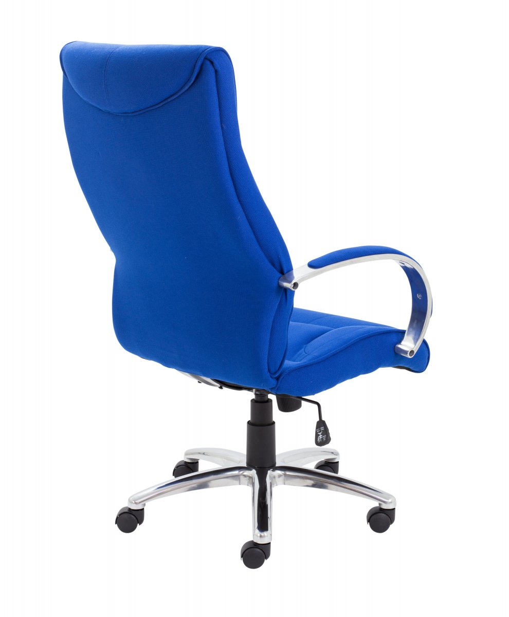 Whist Executive Fabric High Back Chair - Royal Blue