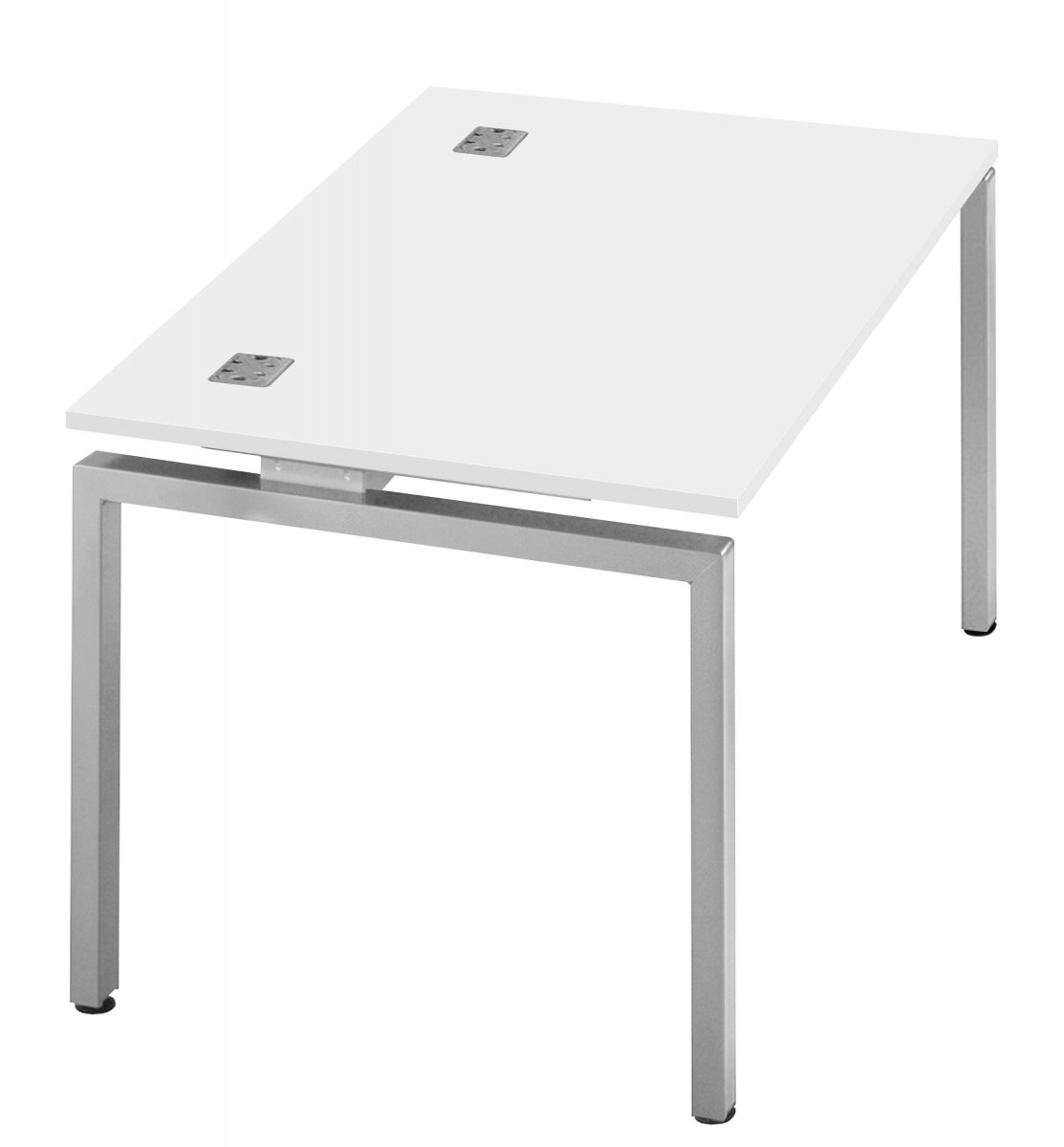 Fraction Bench Single 140 Starter Workstation - White