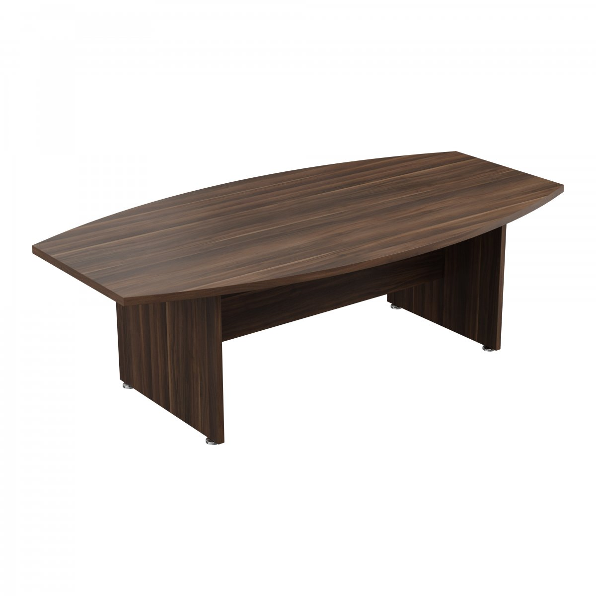 Regent Executive 240 Boardroom Table - Dark Walnut