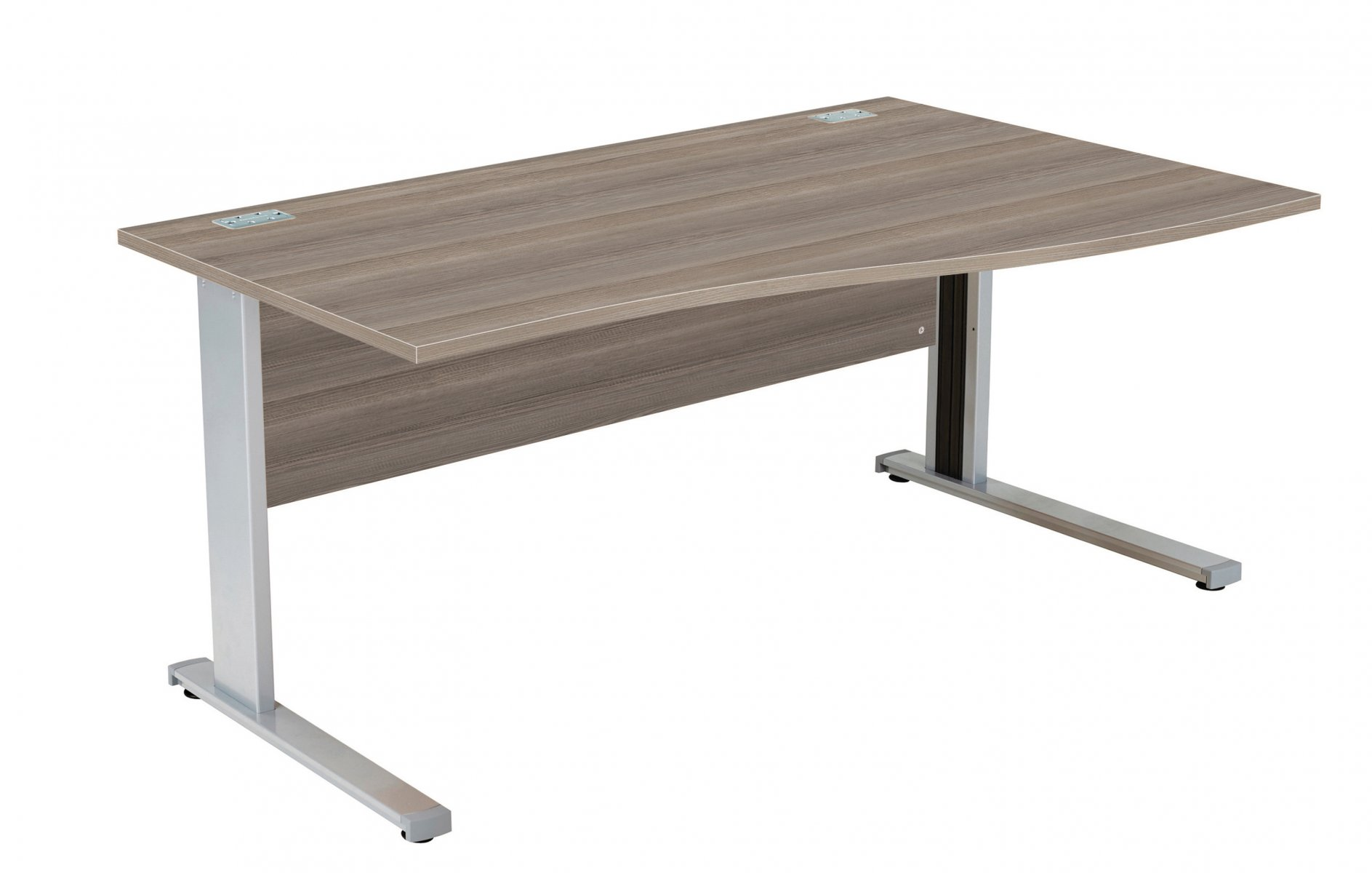 Fraction Deluxe Right Hand 160 Wave Workstation - Grey Oak