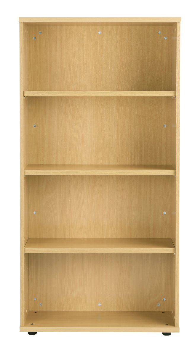Fraction Plus 160 Bookcase inc. 3 Shelves - Nova Oak