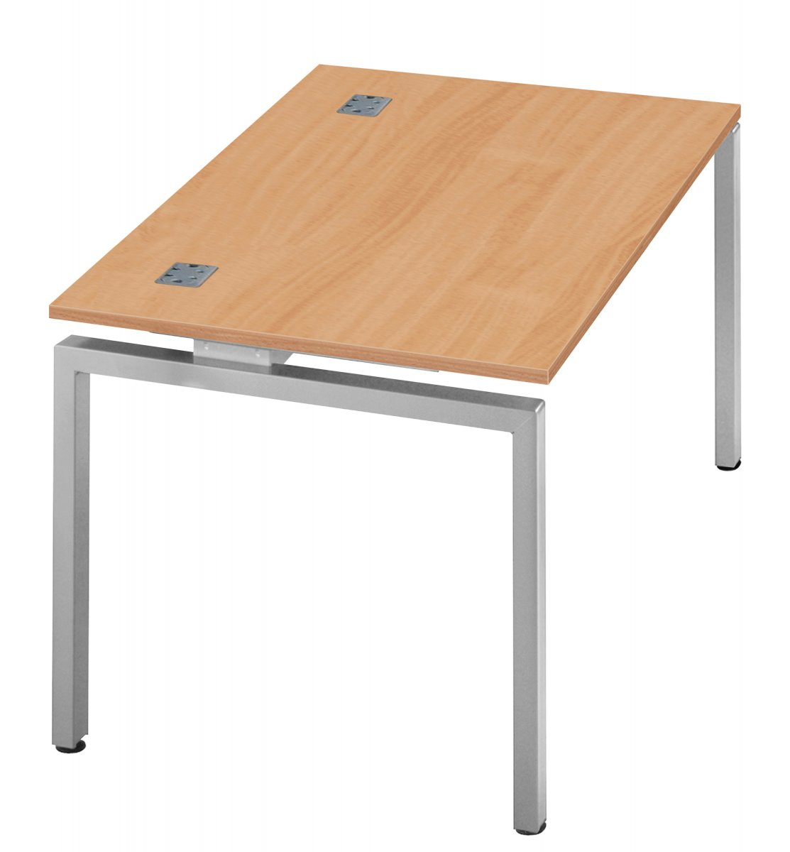 Fraction Bench Single 140 Starter Workstation - Beech