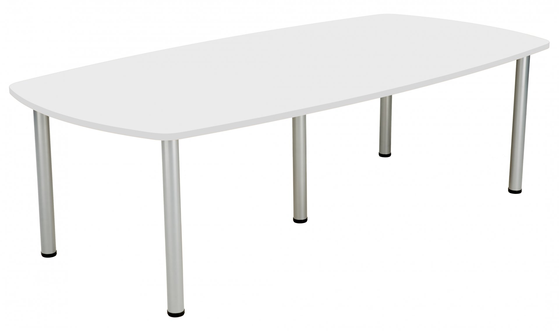 Fraction Plus 240 Boardroom Table - White