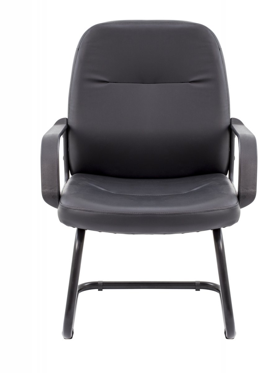 Canasta Visitor Leather-Look Chair