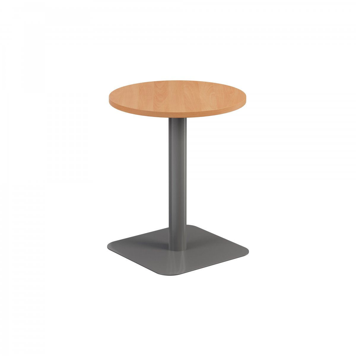 Contract Table Mid 600mm Beech - Version 2