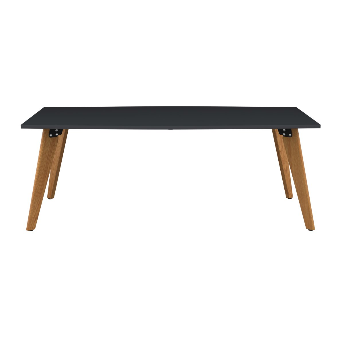 Plateau Barrel Table Anthracite 2000 X 1000 X 740H