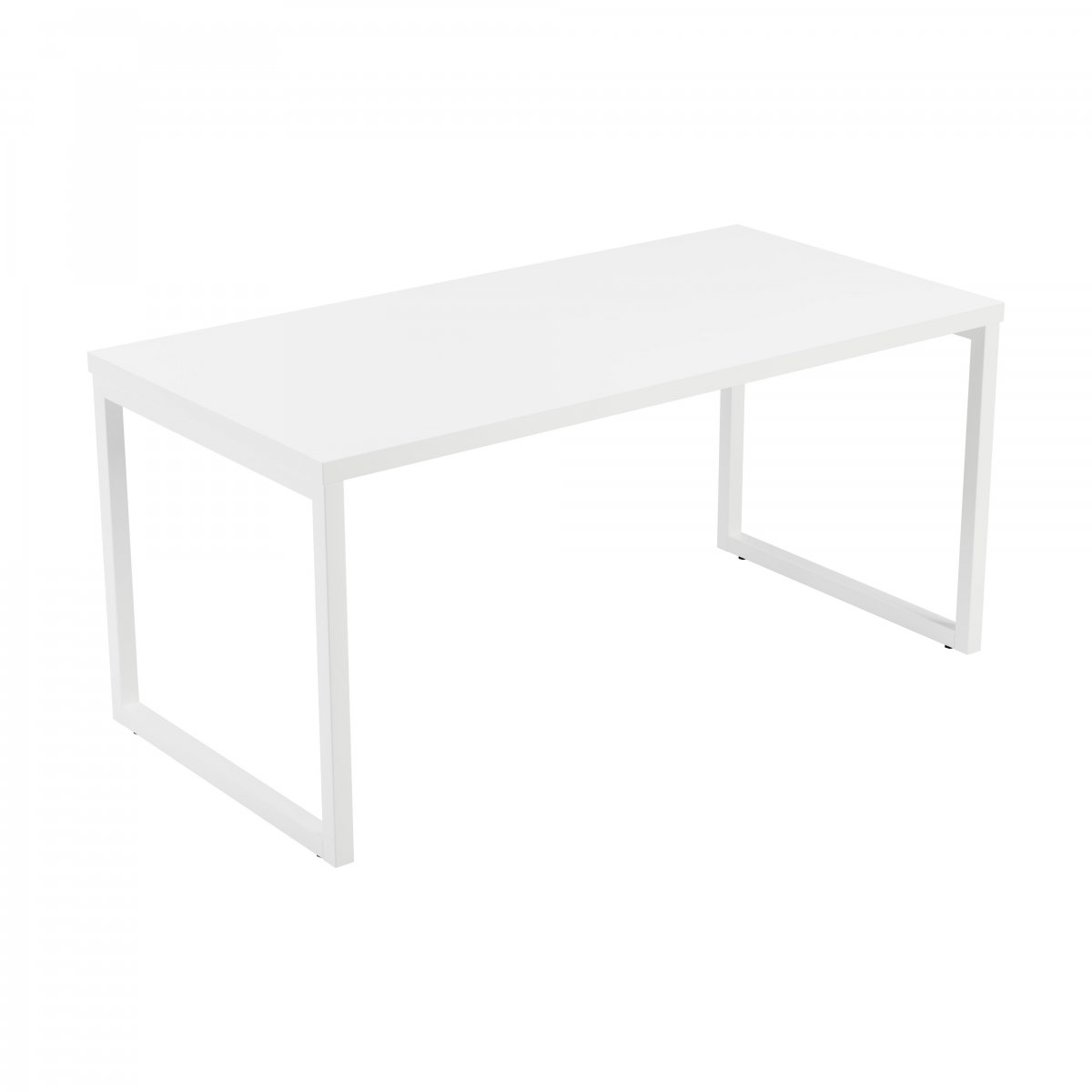 Picnic Bench Low Table White 36mm White Top