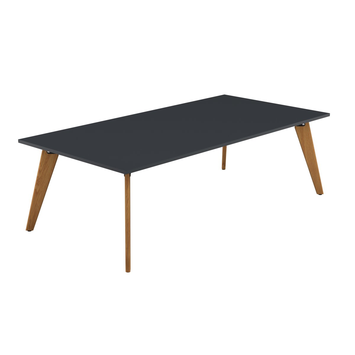Plateau Rectangular Table Anthracite 2400 X 1200 X 740H