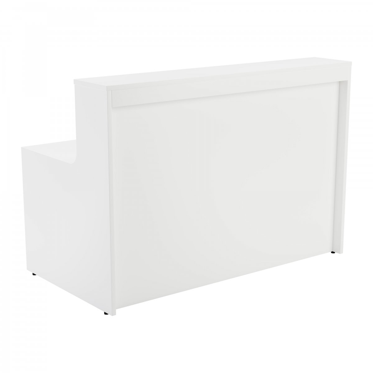 Reception Unit 1600 - White Sides With White Top